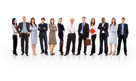 Free Business Team Formed Of Young Royalty Free Stock Photography - 17470477