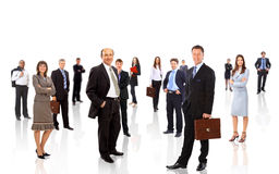 Business team formed of young Stock Photography
