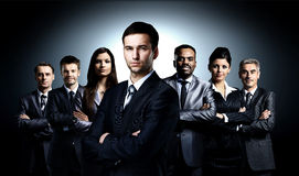 Business team formed Stock Image