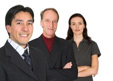 Business team - fresh and experienced Stock Images