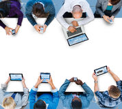 Business Team Global Communication Connection Meeting Concept Stock Photo