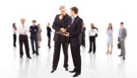 Business team or group Royalty Free Stock Images