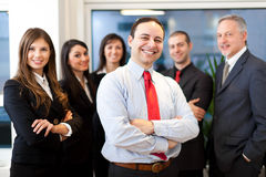 Business team: group of business people Royalty Free Stock Photo