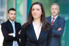 Business team: group of business people Stock Photography