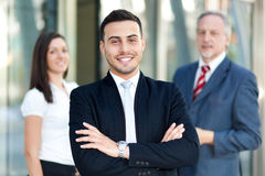 Business team: group of business people Royalty Free Stock Photography