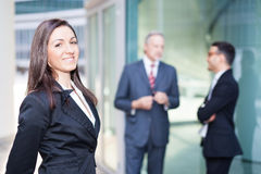 Business team: group of business people Royalty Free Stock Image