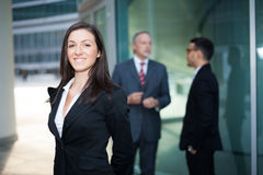 Business team: group of business people Stock Images
