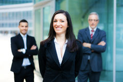 Business team: group of business people Royalty Free Stock Images