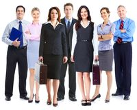 Business team. Royalty Free Stock Photo