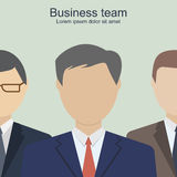 Business team. Group  business people. The company staff. Business concept. Vector  illustration Stock Photo