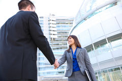 Business Team Handshake Stock Image