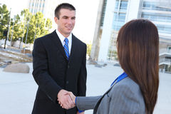 Business Team Handshake Stock Photography
