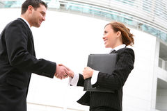Business Team Handshake Stock Photography