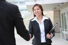Business Team Handshake royalty free stock photography