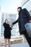 Business Team Handshake Stock Image