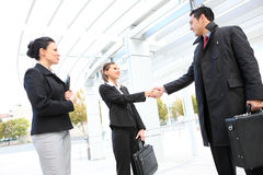 Business Team Handshake Royalty Free Stock Photo