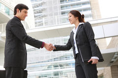 Business Team Handshake Royalty Free Stock Images
