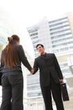 Business Team Handshake royalty free stock image