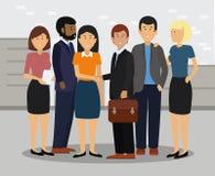 Business Team Handshake Collaboration Concept. royalty free illustration