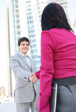 Business Team Handshake at Office Stock Photography
