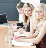 Business team happy wotking together Stock Photography