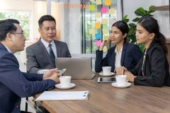 Business team meeting stock images