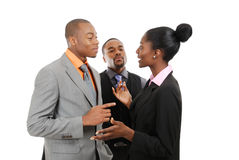 Business team having a discussion Stock Photography