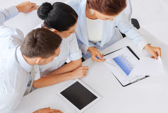 Business team having discussion in office Stock Photography