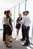 Business Team Having Informal Meeting Royalty Free Stock Photo