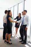 Business Team Having Informal Meeting Stock Image