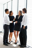 Business Team Having Informal Meeting Royalty Free Stock Image