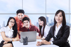 Business team meeting at office Royalty Free Stock Images