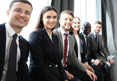 Business team having meeting in the office. Stock Photos