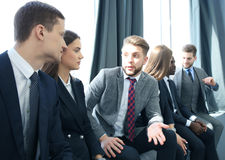 Business team having meeting in the office. Stock Photography