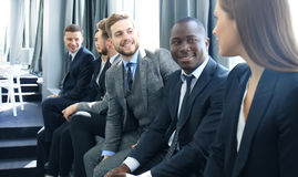 Business team having meeting in the office. Stock Images