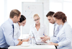 Business team having meeting in office Royalty Free Stock Photography