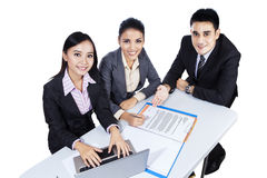 Business Team Having A Meeting Royalty Free Stock Photo