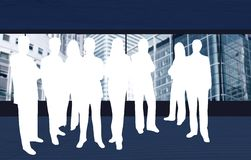 Business team illustration Stock Photography