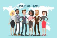 Business team illustration. vector illustration