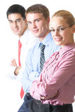 Business team, isolated Royalty Free Stock Photography