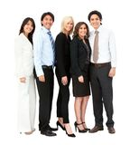 Business team isolated Royalty Free Stock Photo