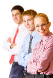 Business team, isolated Stock Photos