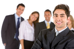Business team isolated Royalty Free Stock Photos