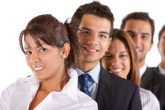 Business team isolated Stock Photo
