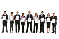 Business team isolated Royalty Free Stock Images