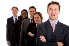 Business team isolated Stock Photography