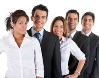 Business team isolated Stock Images