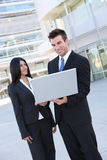 Business Team With Laptop Royalty Free Stock Photo