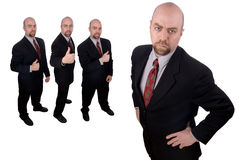 Business team leader Stock Photo