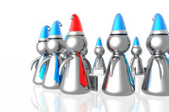 Business team with leader Royalty Free Stock Image